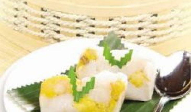 Resep Bongko Pisang kelapa muda