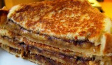 Resep Roti Bakar Pisang komplit dan enak