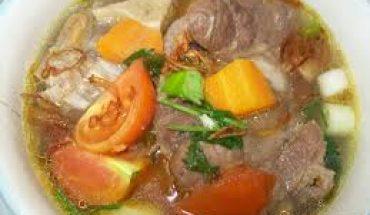 Resep Sup Daging sapi enak dan lezat