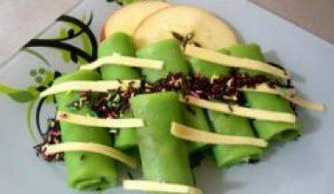 Resep dadar gulung isi pisang