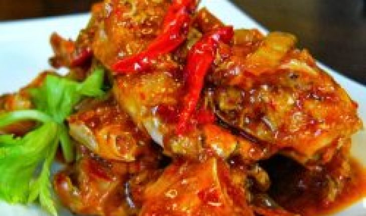 Resep Kepiting Bakar Pedas enak