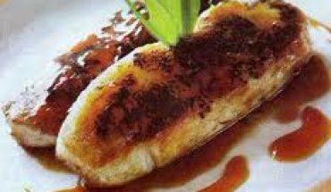 Resep Kue Pisang Bakar Saus Kinca Durian