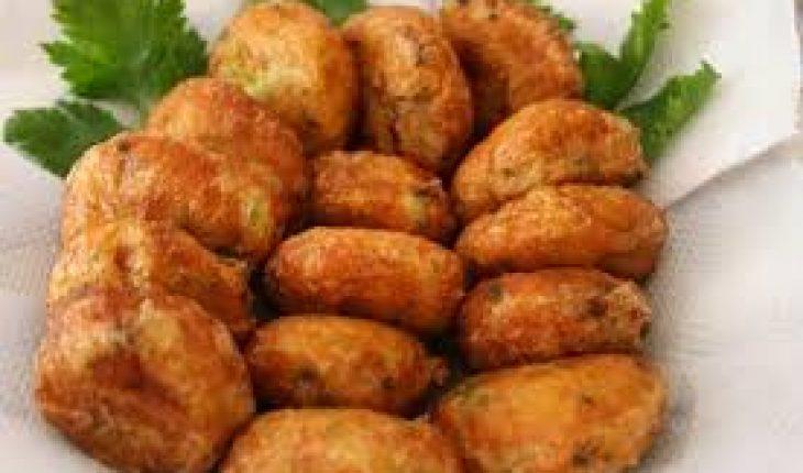 Perkedel kentang salmon